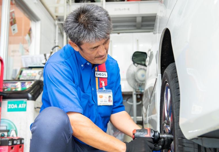 タイヤ交換のイメージ画像